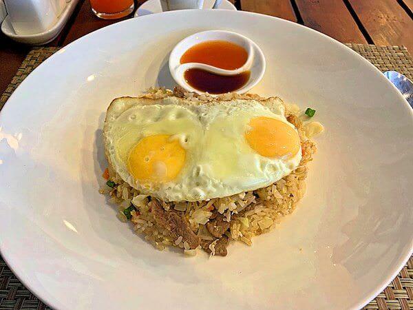 クメール マンション レジデンス(Khmer Mansion Residence)で食べたクメール料理の朝食