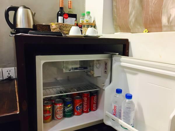 クメール メゾン ダンコール (Khmere Maison d' Angkor)の小型冷蔵庫
