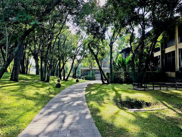 キリマヤ ゴルフ リゾート スパ(Kirimaya Golf Resort Spa)の敷地内