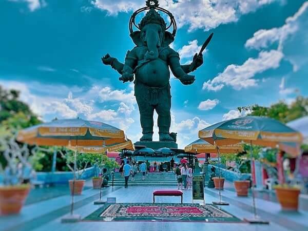 クローンクアン ガネーシャ公園(Klong Kuan Ganesha Park)の巨大ガネーシャ