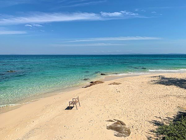 マンノーク島のビーチ1