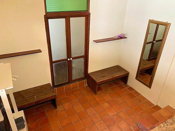 客室バンガローのシャワールーム2