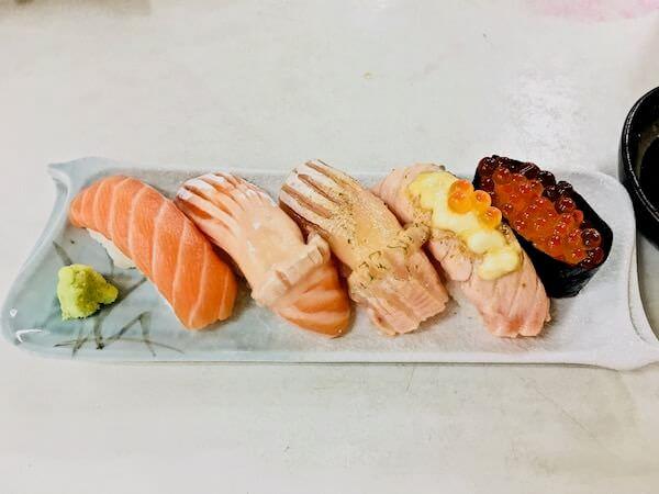 姉御コラート店の寿司
