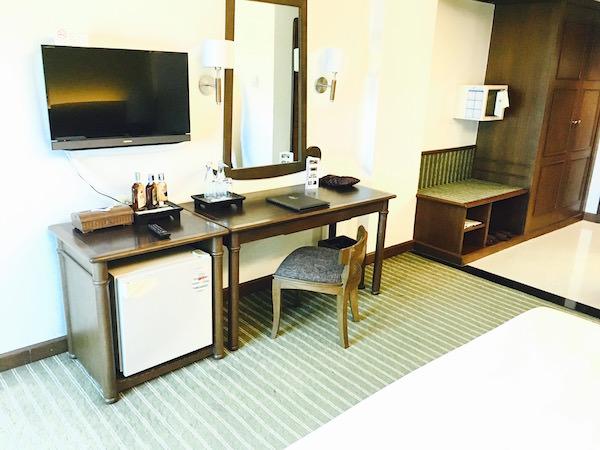クルンシリリバーホテルの客室2
