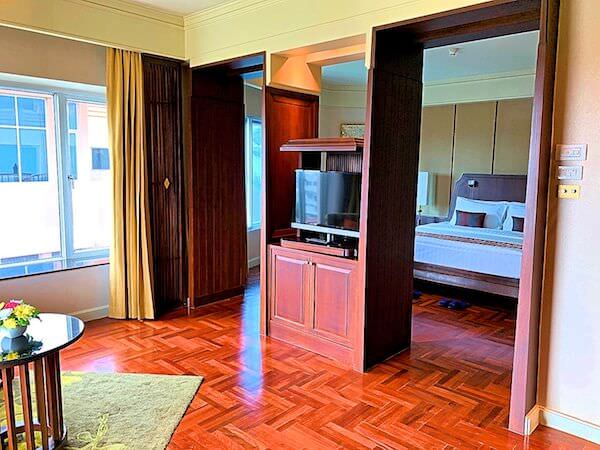 クルンシリ リバー ホテル(Krungsri River Hotel)の客室1
