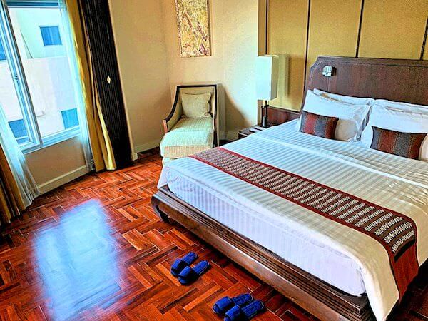 クルンシリ リバー ホテル(Krungsri River Hotel)のベッドルーム
