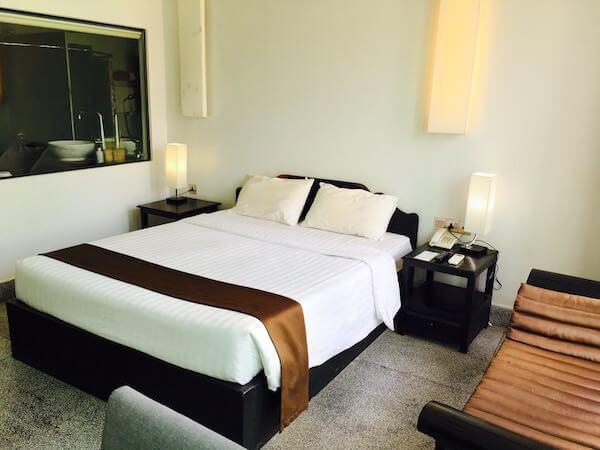 ラダ キリ ブティック ホテル(La Da Kiri Boutique Hotel)のベッド