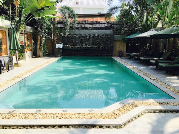 ラダ キリ ブティック ホテル(La Da Kiri Boutique Hotel)のプール