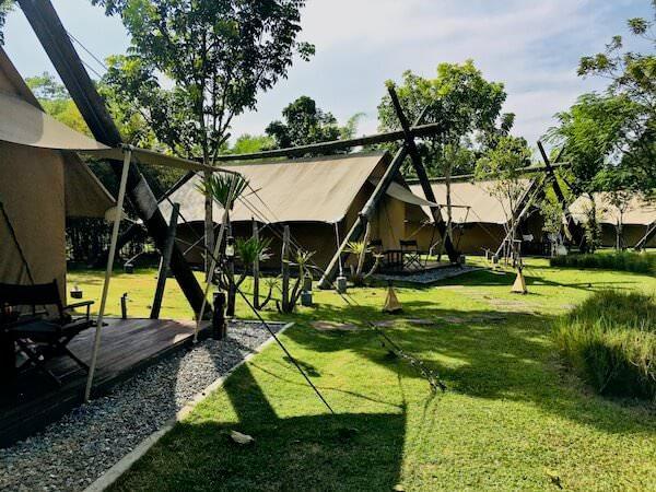 ララ ムクハ テンティッド リゾート カオヤイ(Lala Mukha Tented Resort Khao Yai)のテント