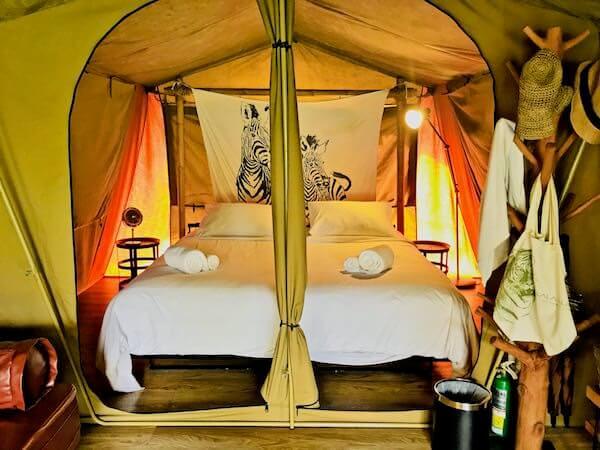 ララ ムクハ テンティッド リゾート カオヤイ(Lala Mukha Tented Resort Khao Yai)のテント内1