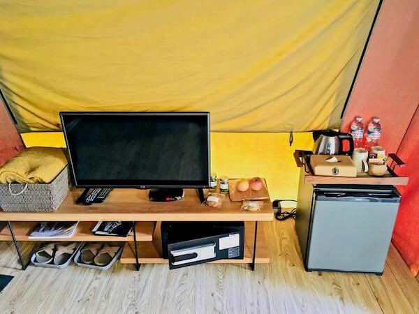ララ ムクハ テンティッド リゾート カオヤイ(Lala Mukha Tented Resort Khao Yai)のテント内2
