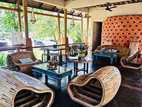 ララ ムクハ テンティッド リゾート カオヤイ(Lala Mukha Tented Resort Khao Yai)の休憩スペース