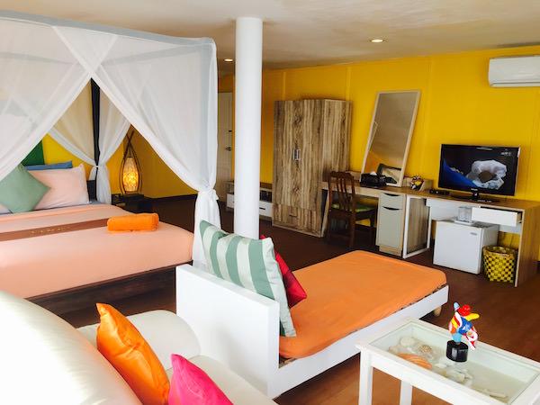 ラレーナ リゾート バイ ザ シー コ ラン(Lareena Resort By The Sea Koh Larn)の客室1
