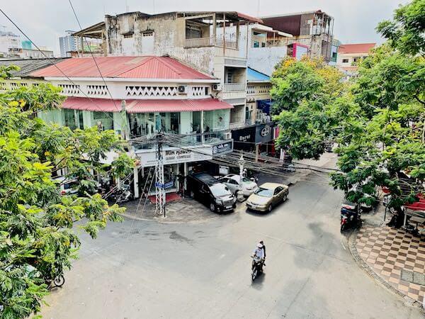 ラヴァンヤ ブティック ホテル(Lavanya Boutique Hotel)のバルコニーから見える景色