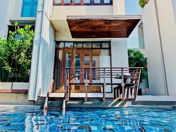 レッツ シー フアヒン アルフレスコ リゾート(Let's Sea Hua Hin Al Fresco Resort)の客室棟