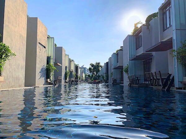 レッツシーホアヒン アルフレスコ リゾート(Let's Sea Hua Hin Al Fresco Resort)のプール3