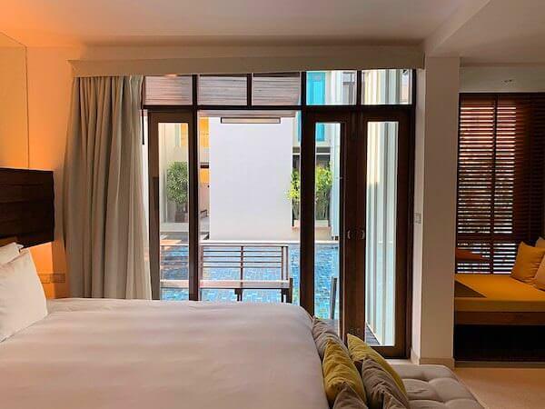 レッツシーホアヒン アルフレスコ リゾート(Let's Sea Hua Hin Al Fresco Resort)の客室1