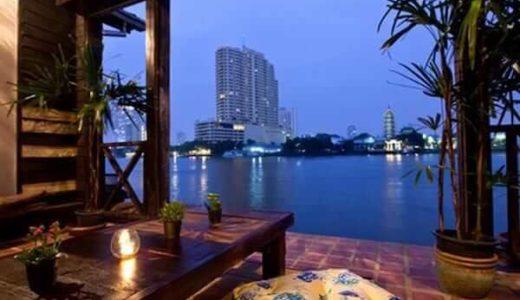 ロイラロンホテル。チャオプラヤー川に浮かぶ秘密の隠れ家。
