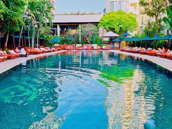 マンダリン オリエンタル バンコク(Mandarin Oriental Bangkok)のメインプール1