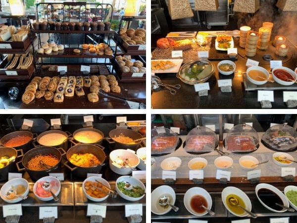 マンダリン オリエンタル バンコク(Mandarin Oriental Bangkok)の朝食ビュッフェ