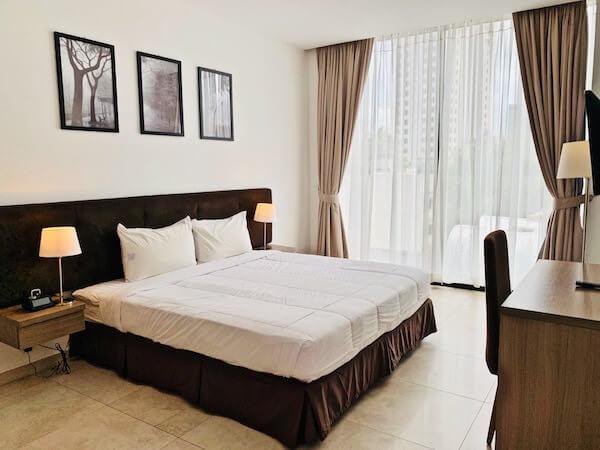 マンション 51 ホテル&アパートメント(Mansion 51 Hotel & Apartment)のベッドルーム