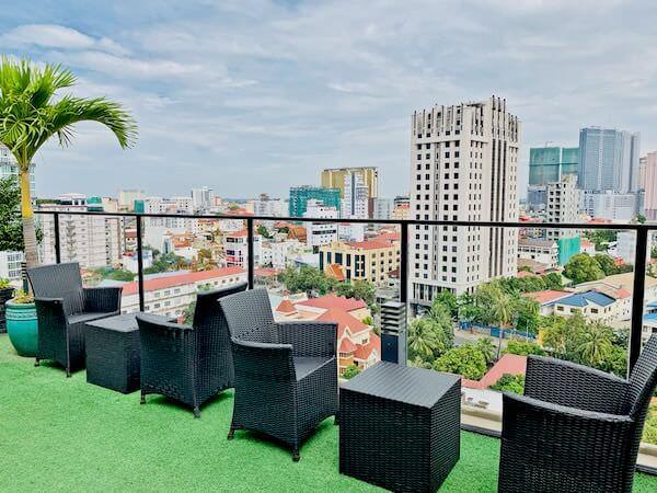 マンション 51 ホテル&アパートメント(Mansion 51 Hotel & Apartment)の屋上テラス