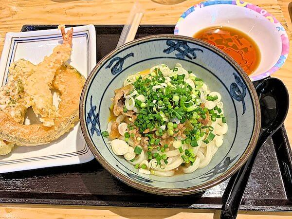 プロンポンの丸亀製麺で食べたうどん