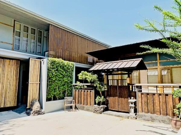 マユ バンコク ジャパニーズ スタイル ホテル(MAYU Bangkok Japanese Style Hotel)の入り口敷地1