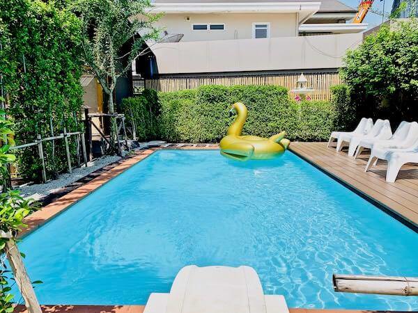 マユ バンコク ジャパニーズ スタイル ホテル(MAYU Bangkok Japanese Style Hotel)のプール