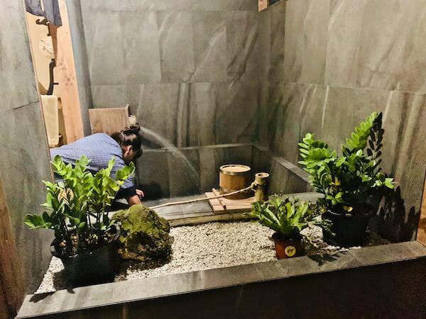 マユ バンコク ジャパニーズ スタイル ホテル(MAYU Bangkok Japanese Style Hotel)の温泉風呂1