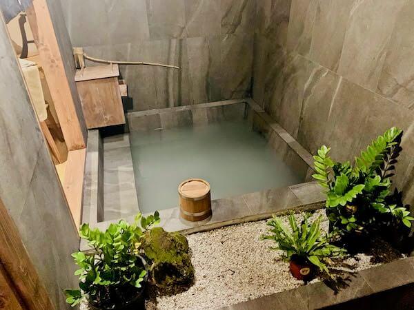 マユ バンコク ジャパニーズ スタイル ホテル(MAYU Bangkok Japanese Style Hotel)の温泉