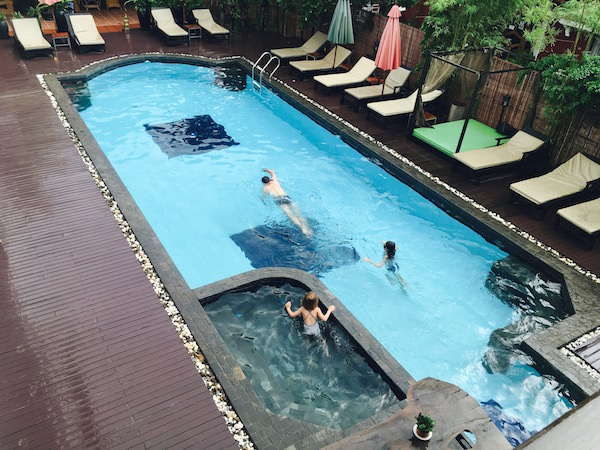 メコン アンコール パレス ホテル (Mekong Angkor Palace Hotel)のプール