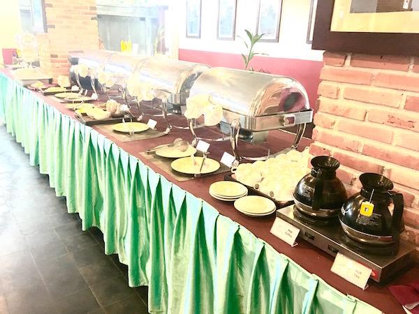 メコン アンコール パレス ホテル(Mekong Ankor Palace Hotel)の朝食1