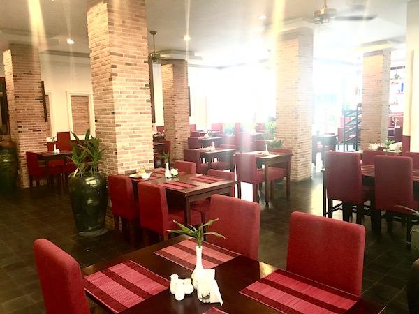 メコン アンコール パレス ホテル(Mekong Ankor Palace Hotel)の朝食会場