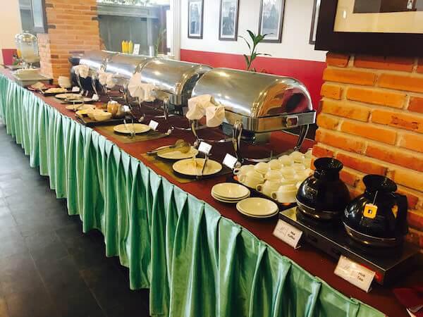 メコン アンコール パレス ホテル (Mekong Angkor Palace Hotel)の朝食