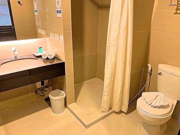 ミダ ホテル ドンムアン エアポート バンコク(Mida Hotel Don Mueang Airport Bangkok)のシャワールーム