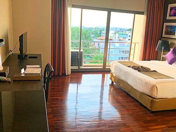 ミダ ホテル ドンムアン エアポート バンコク(Mida Hotel Don Mueang Airport Bangkok)の客室1