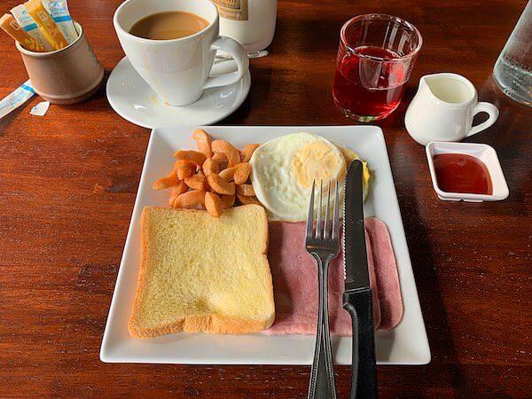 ミッドタウン スコータイ(Midtown Sukhothai)の朝食