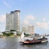 ミレニアム ヒルトン バンコクとホテル送迎ボート