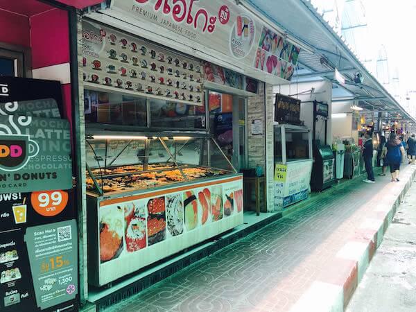 ミレニアム ヒルトン バンコク(Millennium Hilton Bangkok)のローカルマーケット2