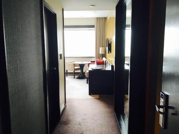 ミレニアム ヒルトン バンコク(Millennium Hilton Bangkok)の客室1