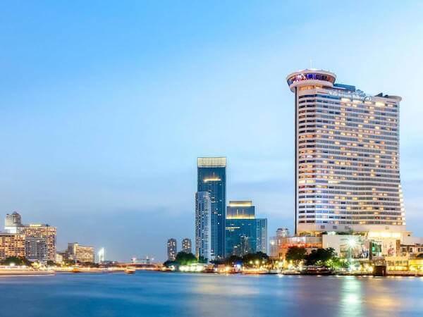 ミレニアム ヒルトン バンコク(Millennium Hilton Bangkok)の外観2