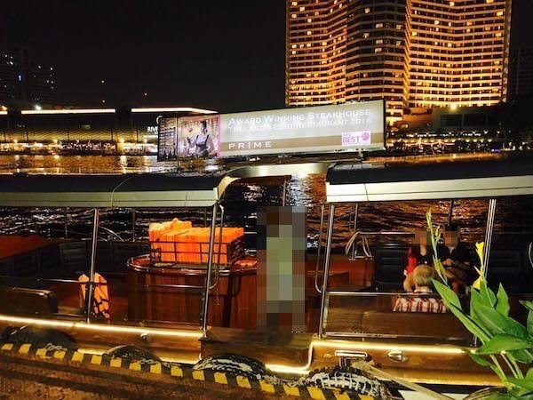 ミレニアム ヒルトン バンコク(Millennium Hilton Bangkok) 無料送迎ボート