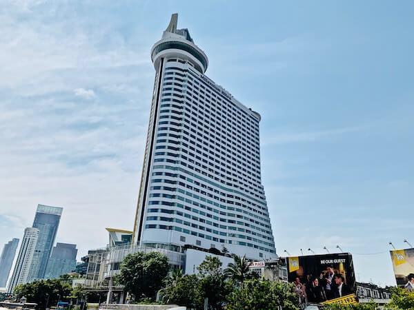 ミレニアム ヒルトン バンコク(Millennium Hilton Bangkok)の外観
