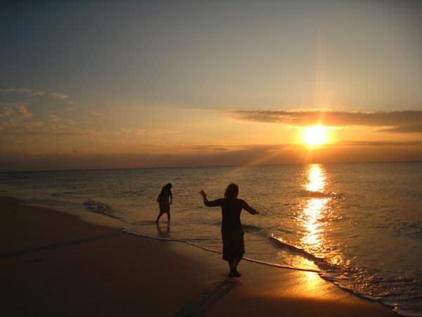 宮古島〜長間浜の夕陽