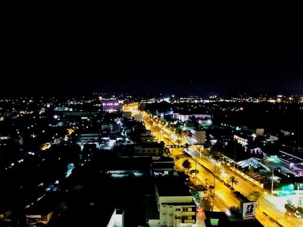 コラートの夜景