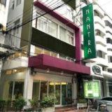 BTSエカマイから徒歩5分のナントラ エカマイ ホテル。おすすめのポイントは居心地の良さ。