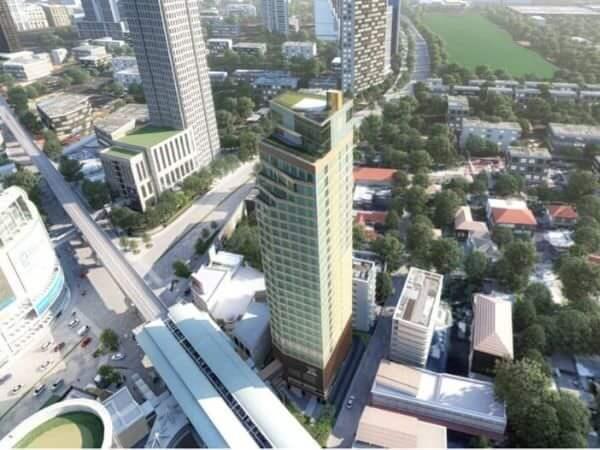 西鉄ソラリアバンコクの外観イメージ