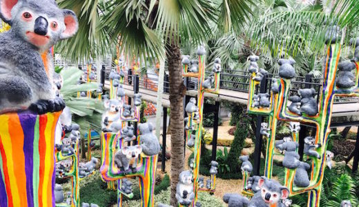 ノン・ヌッ・トロピカル・ガーデンはタイダンスやエレファントショーも行われる巨大な庭園。