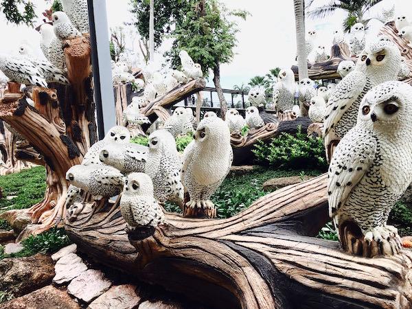 フクロウのオブジェ